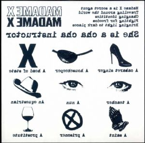 MADAME X - TEMPORARY TATTOO SHEET